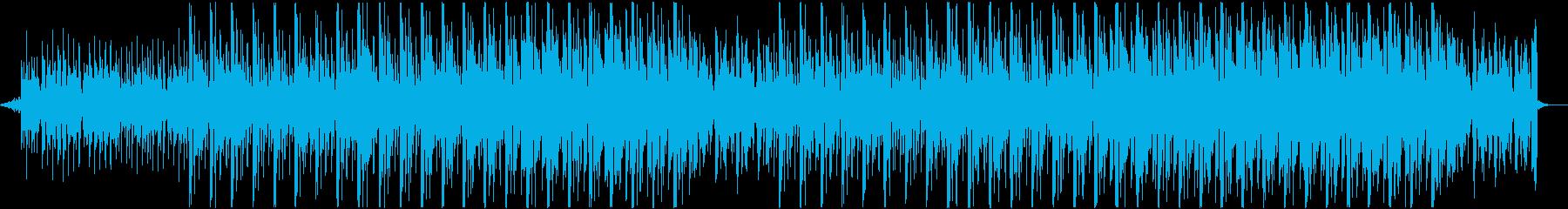 CM!無機質&クールな近未来テクスチャーの再生済みの波形