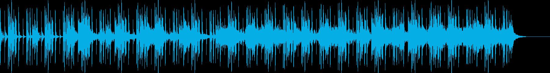 面白いのピット作りの再生済みの波形