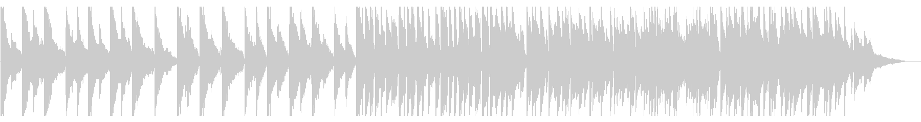 【ピアノ】幻想的で美しい紹介案内映像向けの未再生の波形