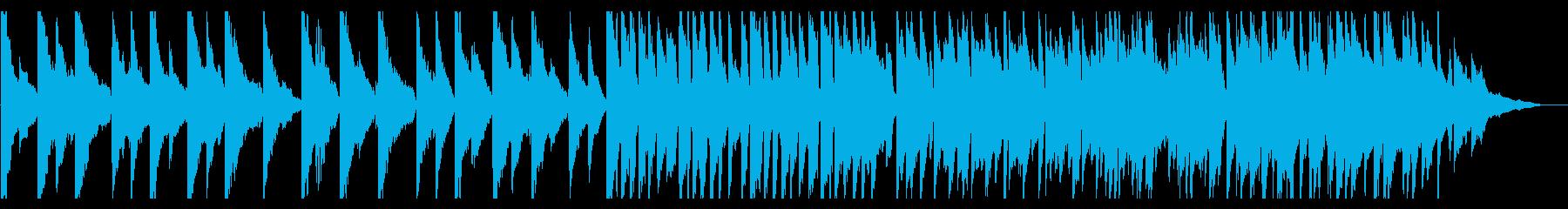 【ピアノ】幻想的で美しい紹介案内映像向けの再生済みの波形