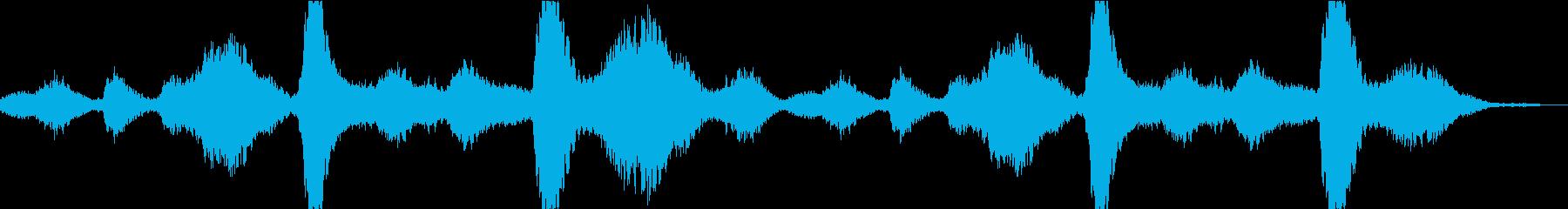 不気味なアンビエントの再生済みの波形