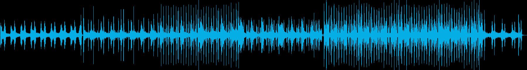 ChillなオシャレHipHopの再生済みの波形