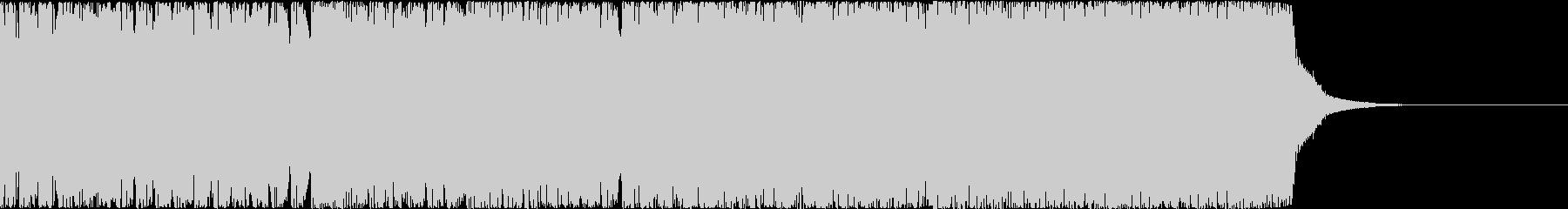 【EDM風】爽やかだけど徐々に上がる音。の未再生の波形