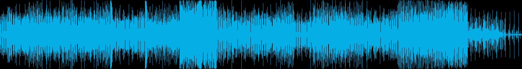 インストゥルメンタル、ヒップホップ...の再生済みの波形