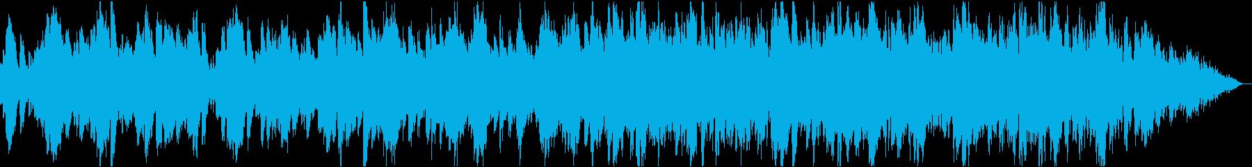 ナチュラルでhappyなフルートとピアノの再生済みの波形