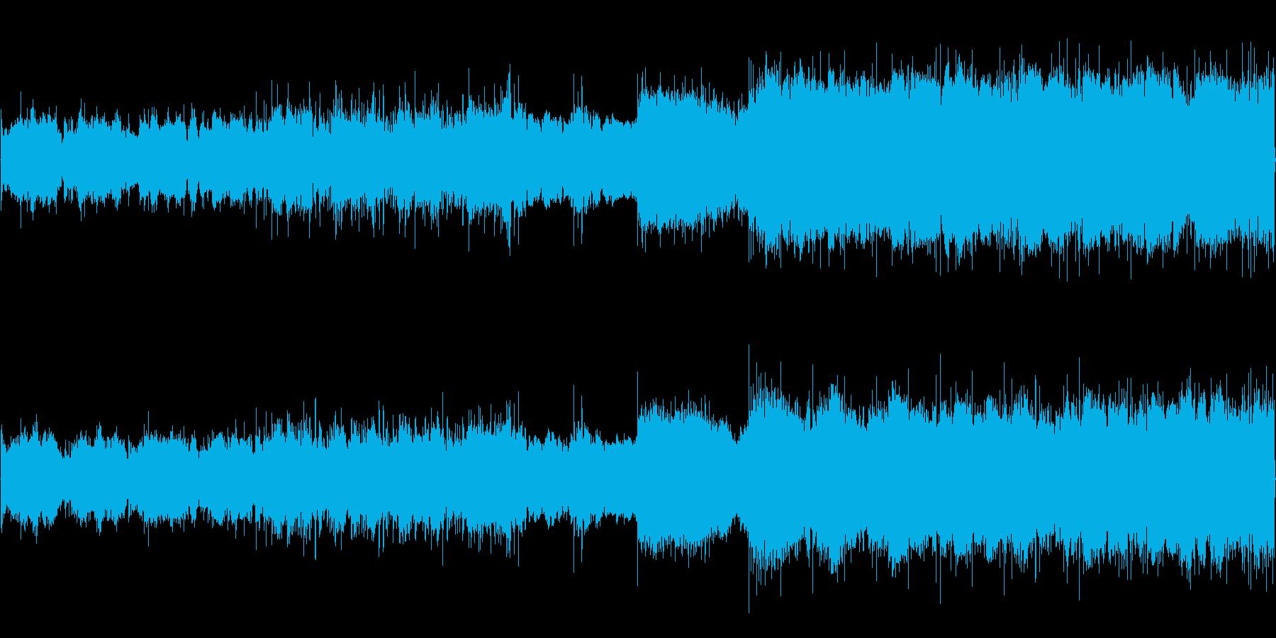 シネマティックで堂々としたロックの再生済みの波形