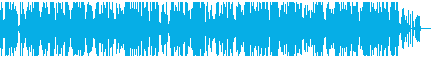情報系バラエティ番組オープニングBGMの再生済みの波形