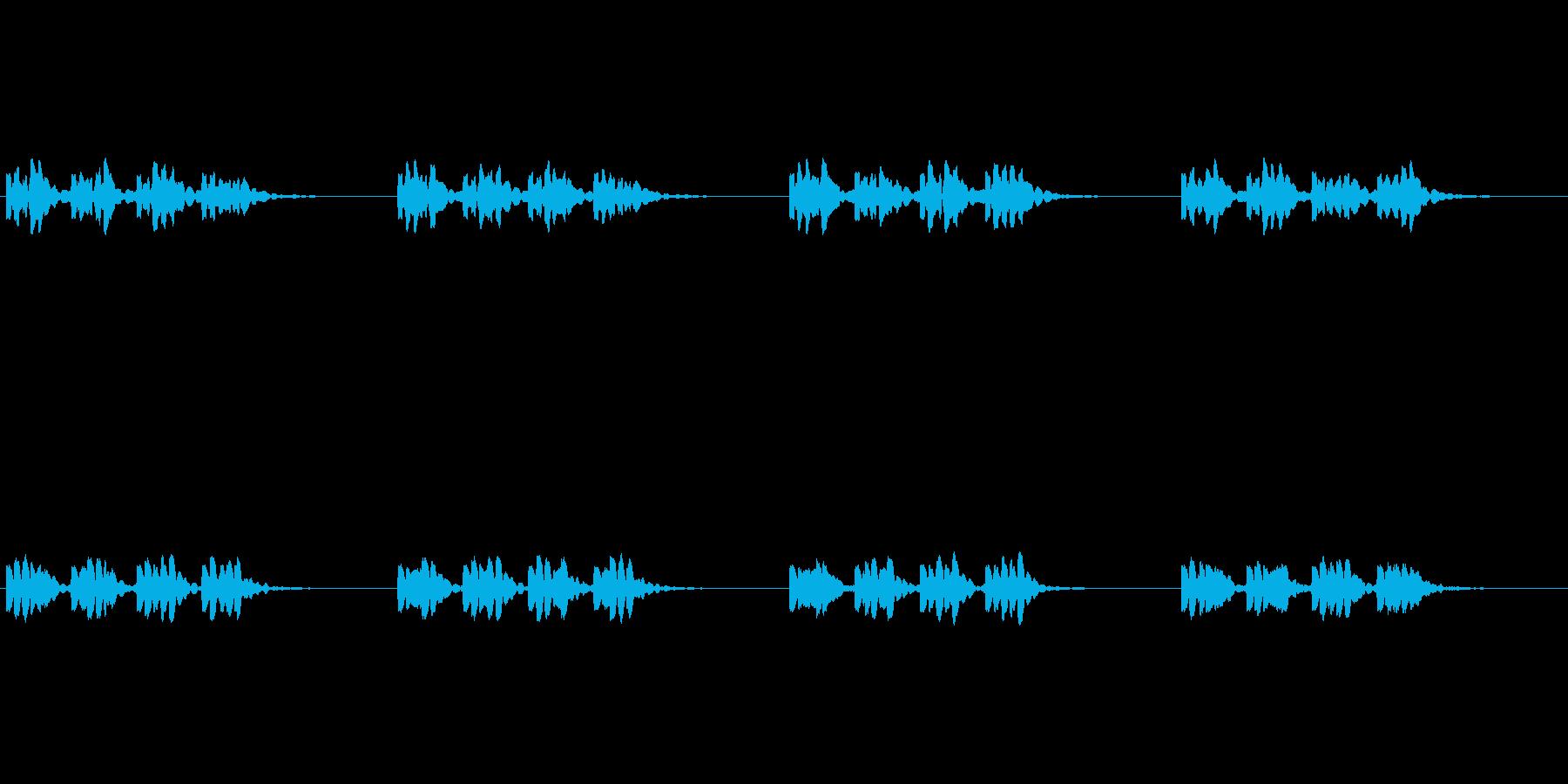 【携帯電話 着信音01-6L】の再生済みの波形