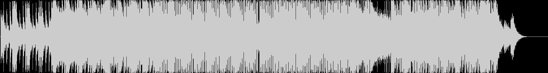 爽やかなピアノリフから始まる元気系の未再生の波形
