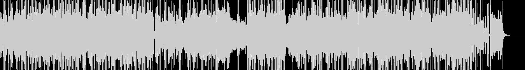 スタートダッシュシンセ・ハロウィンロックの未再生の波形