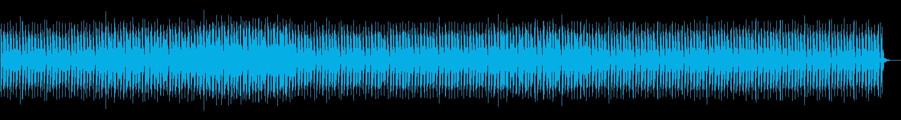 無機質なミニマルテクノ 5の再生済みの波形