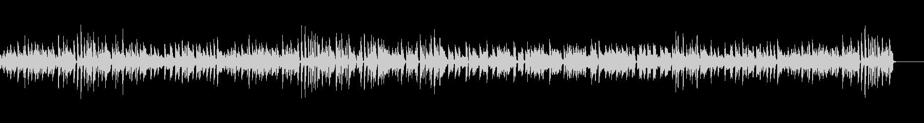 のんびりでのどか ほのぼのピアノBGMの未再生の波形