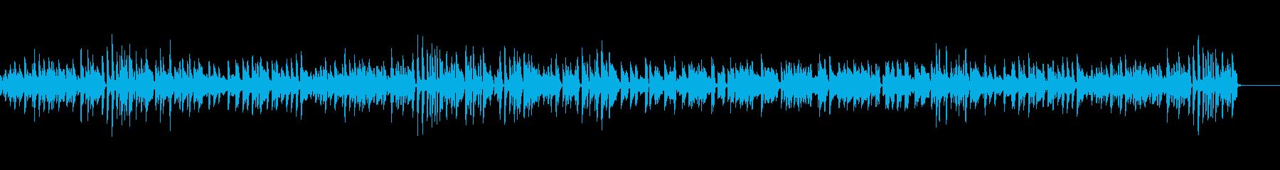 のんびりでのどか ほのぼのピアノBGMの再生済みの波形
