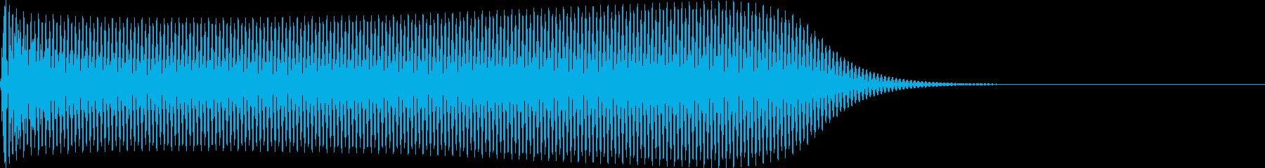選択音 決定音 シンプル A07の再生済みの波形