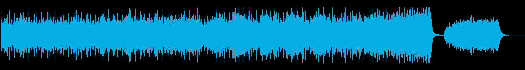 トレーラー音楽:ロックオーケストラの再生済みの波形