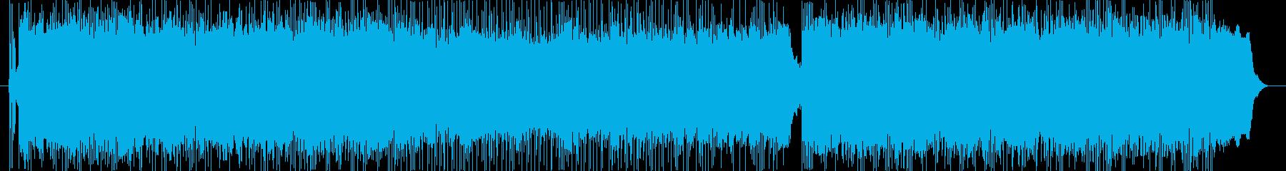 SFチックな戦闘曲の再生済みの波形