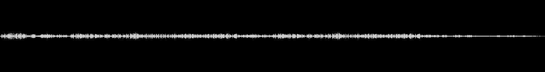 野鳥のコーラス~ヒバリメイン~早朝生録音の未再生の波形