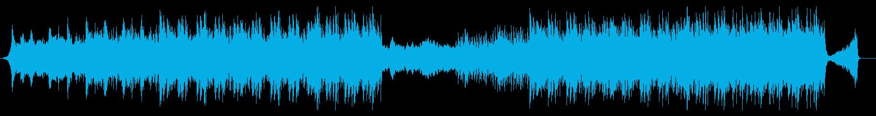 オリンピック活躍映像系迫力感動壮大和太鼓の再生済みの波形