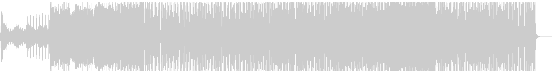 楽しい気分のフューチャーハウス フル歌の未再生の波形