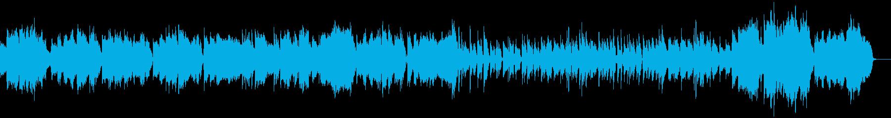 伸びやかなトロンボーンのスロージャズの再生済みの波形