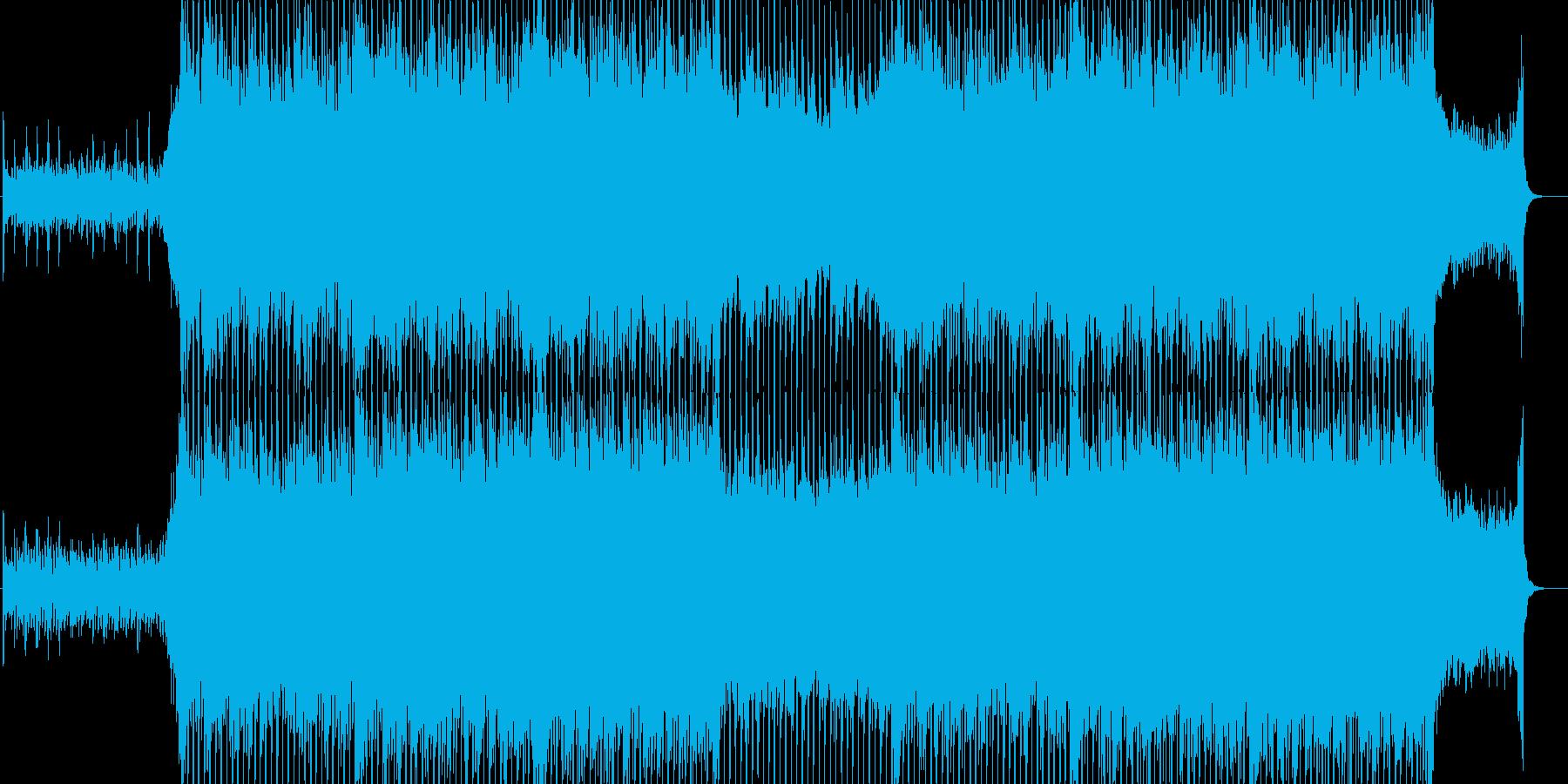 企業VPや映像に、華やか、オーケストラの再生済みの波形