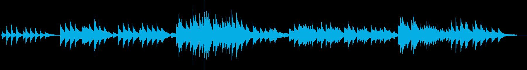 故郷(ピアノカバー)の再生済みの波形