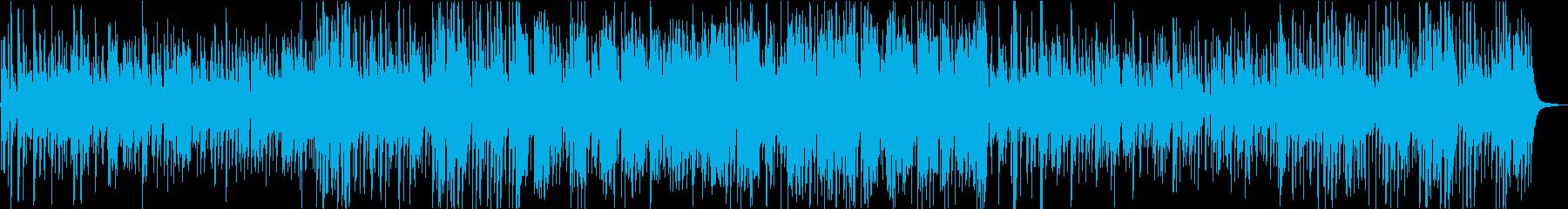 ゆったり爽やかなアコースティックジャズの再生済みの波形