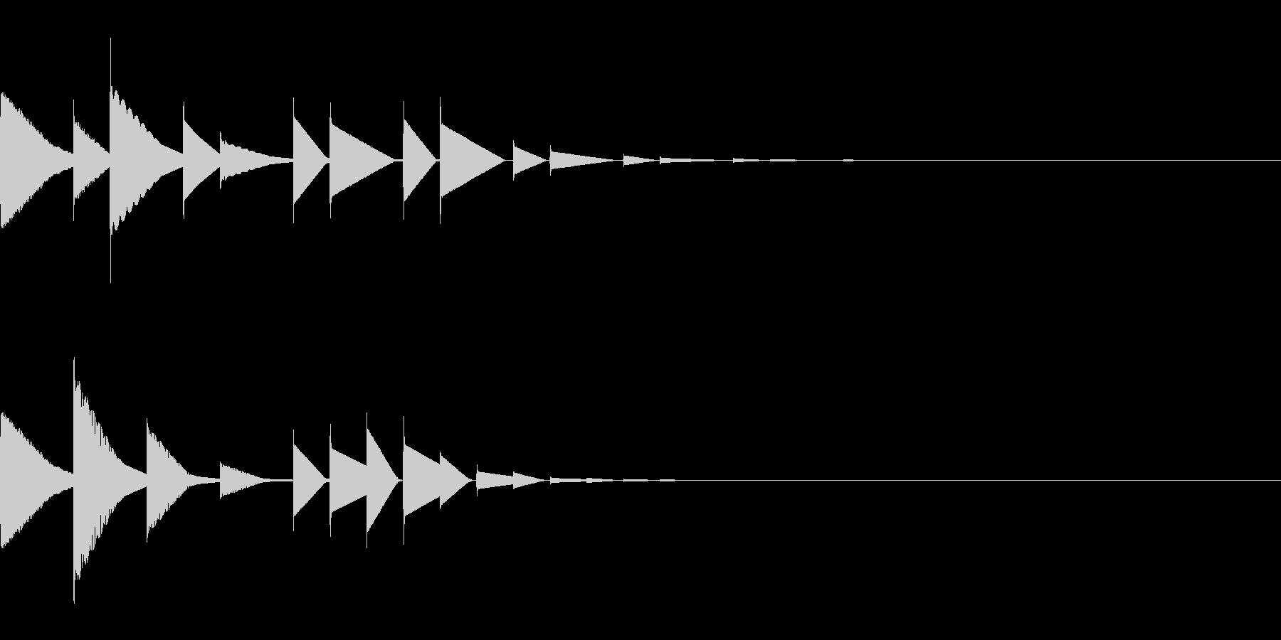 ピロリン#2(宿屋/アイキャッチ回復魔法の未再生の波形