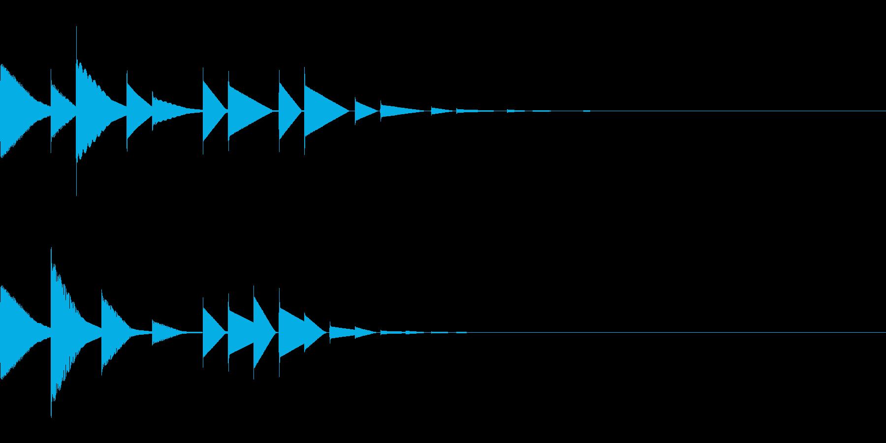 ピロリン#2(宿屋/アイキャッチ回復魔法の再生済みの波形