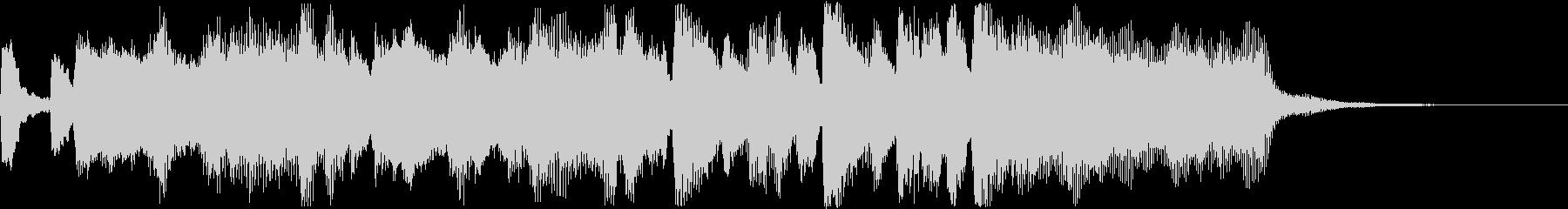 華やかなファンファーレ〜ゲームクリアなどの未再生の波形