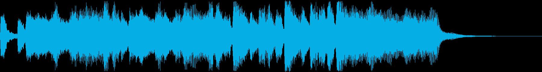 華やかなファンファーレ〜ゲームクリアなどの再生済みの波形