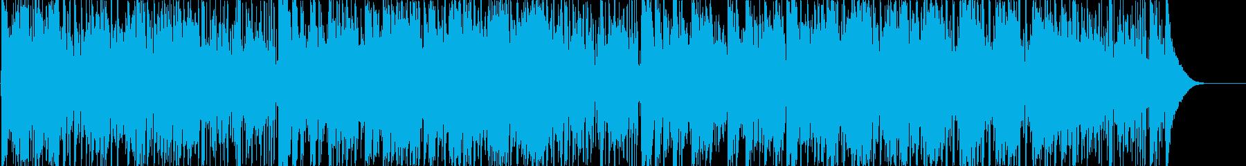 番組オープニングテーマ曲にぴったりな曲の再生済みの波形