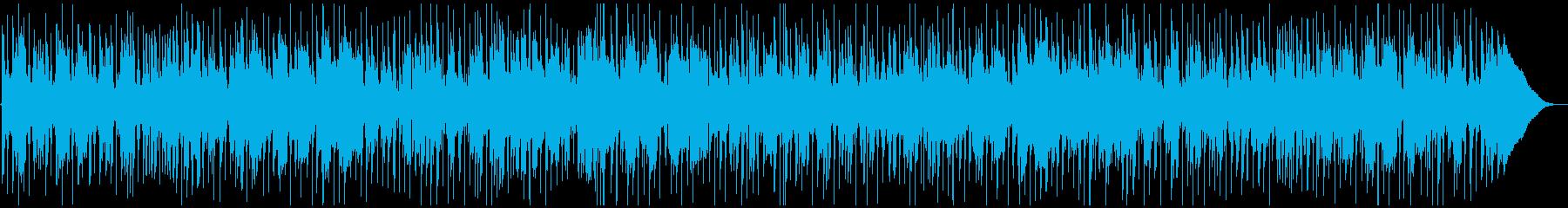 モダンなR&B風BGMの再生済みの波形