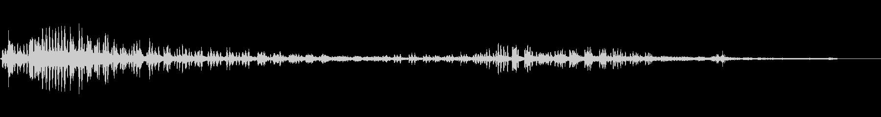 白鳥歌手-飛行-の未再生の波形