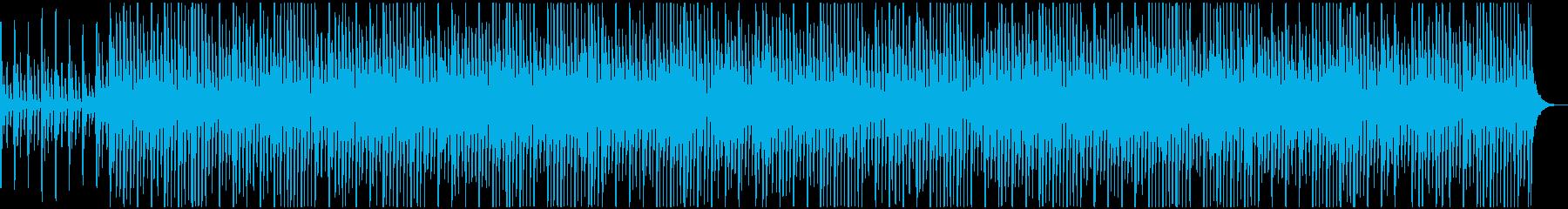 口笛とウクレレの可愛いポップスBGMの再生済みの波形