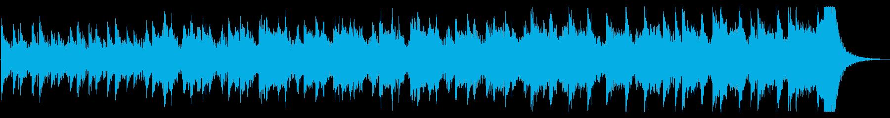 緊張感・恐怖感・サスペンスホラーの再生済みの波形