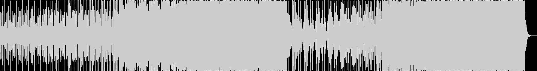 綺麗で元気の出るトロピカルハウスの未再生の波形