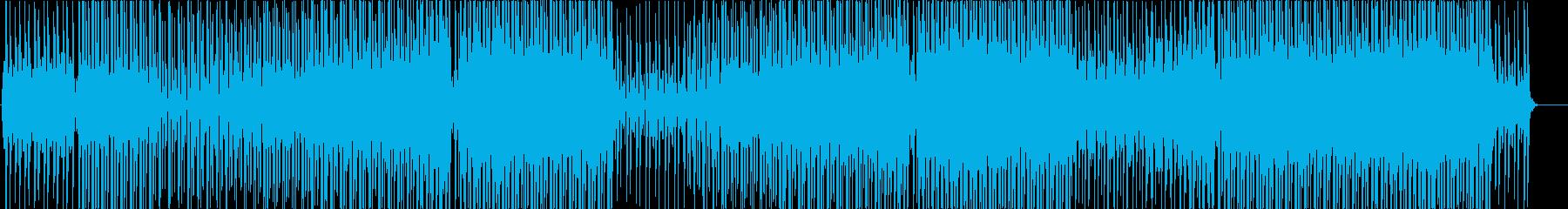 リラックスムードのトロピカルハウス♬の再生済みの波形