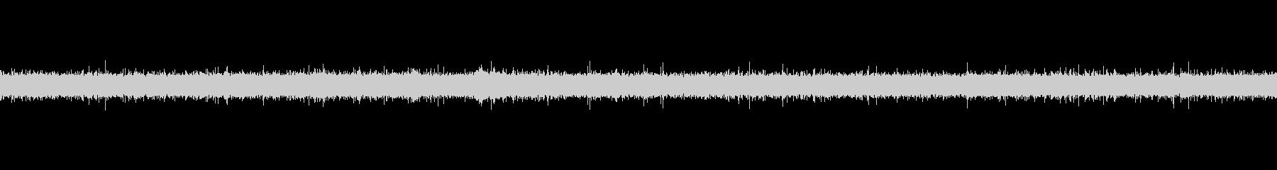 【91秒ループ】川のせせらぎの未再生の波形