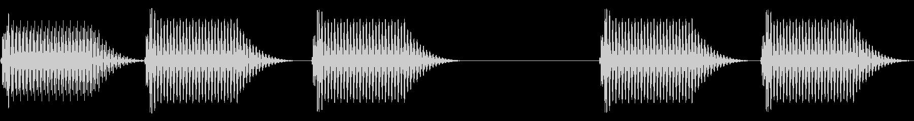 往年のRPG風 セリフ・吹き出し音 8の未再生の波形