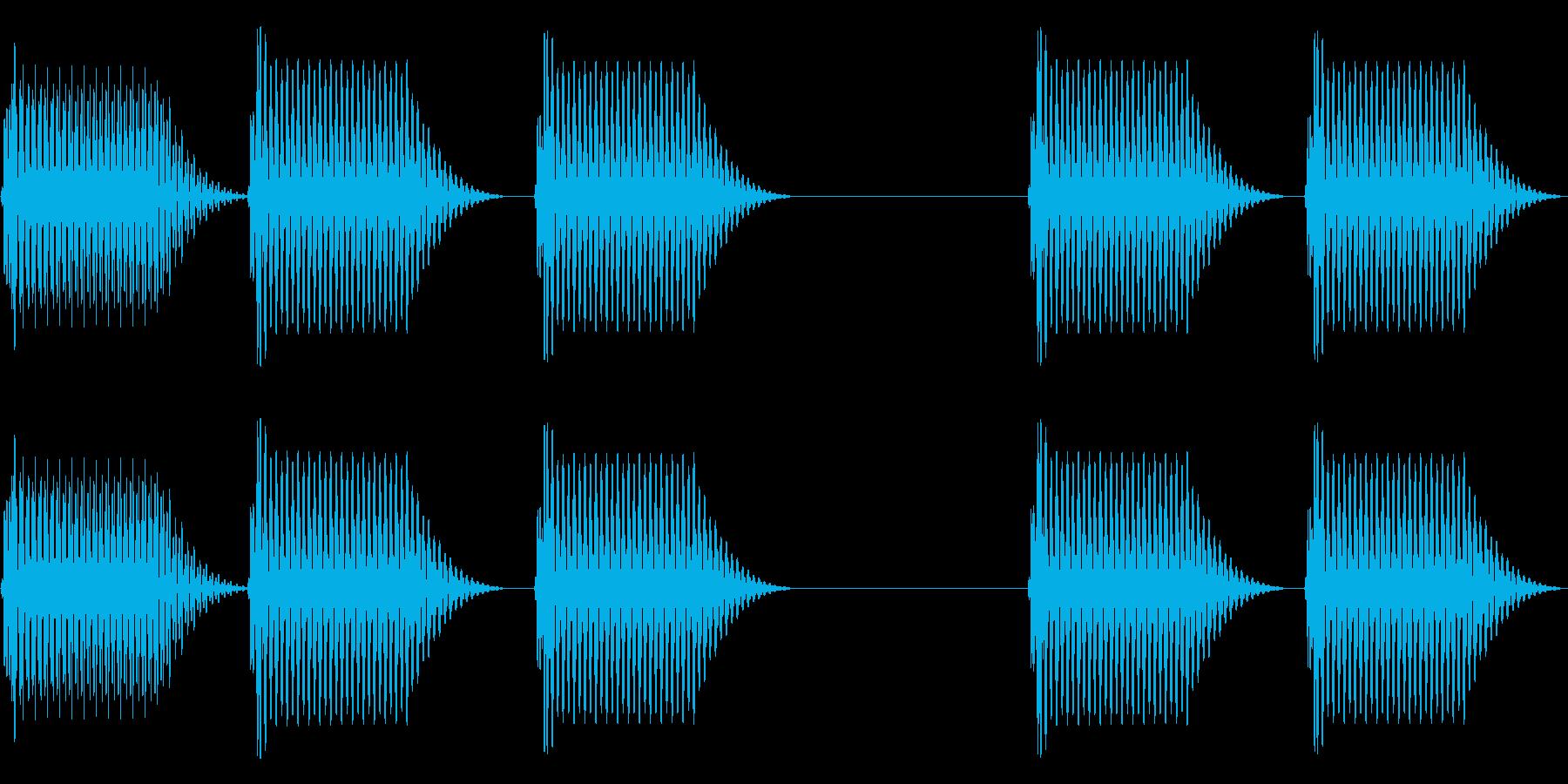 往年のRPG風 セリフ・吹き出し音 8の再生済みの波形