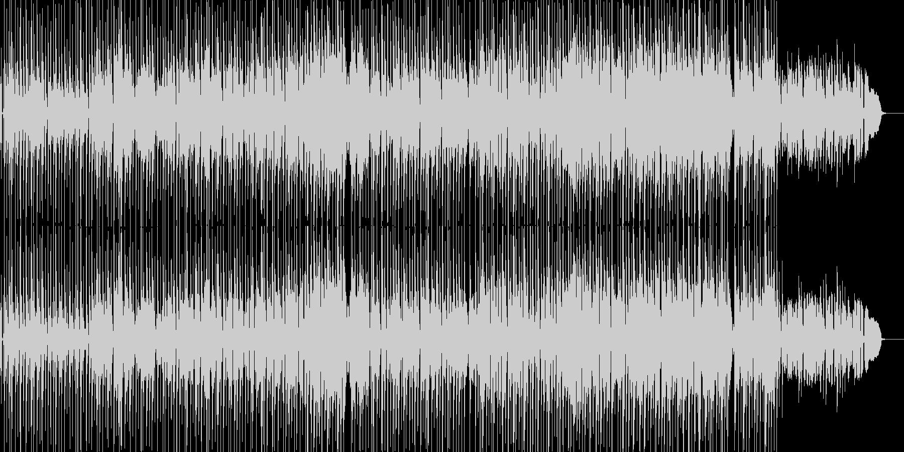ゆったりしたアコースティックなポップスの未再生の波形