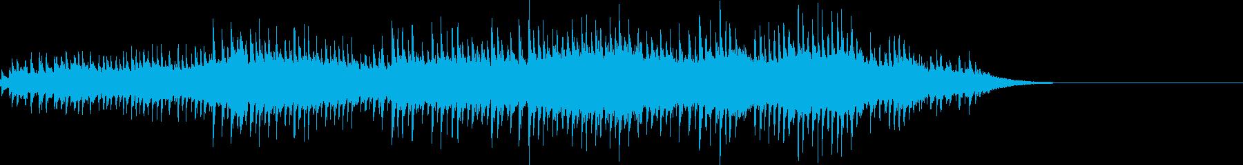 お化け 不思議 コミカル フレクサトーンの再生済みの波形