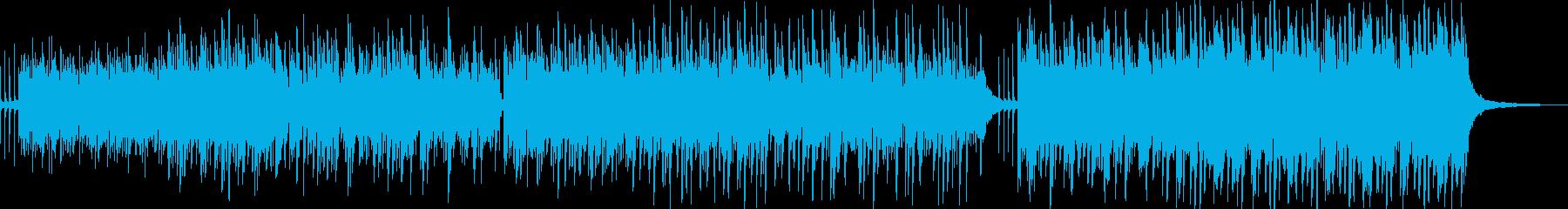 ほのぼのアコギ、子供の成長シーンの再生済みの波形