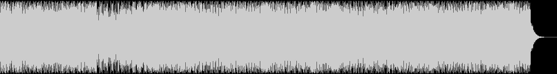 1コードで構成されたミニマルなテクノの未再生の波形