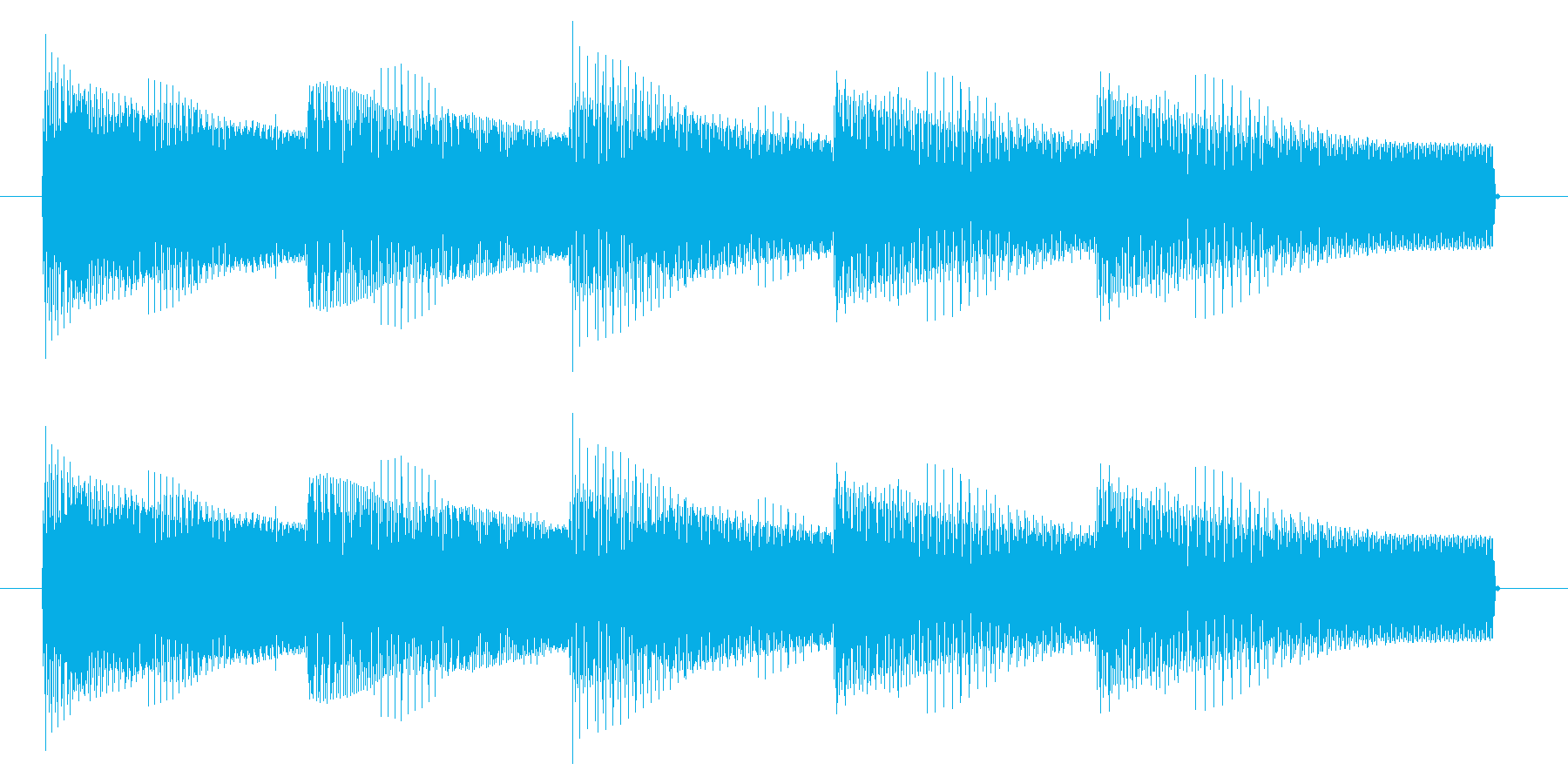 NES 汎用 B03-3(ゲームオーバーの再生済みの波形