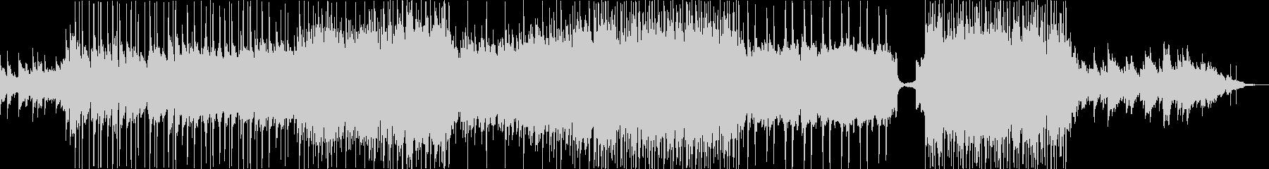 エンディングで流れるような優しいバラードの未再生の波形