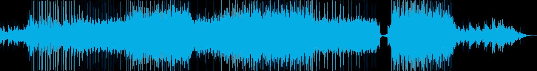 エンディングで流れるような優しいバラードの再生済みの波形