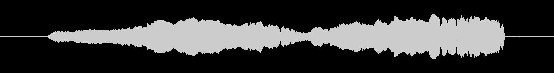 FX ホイッスルロングアップ01の未再生の波形