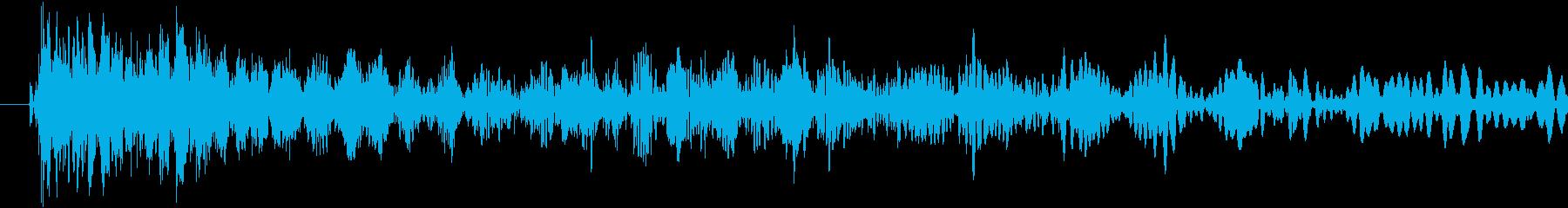 エアマックスストップの再生済みの波形